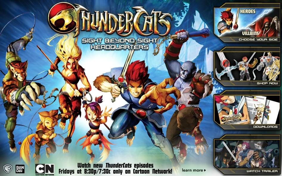 if youre a thundercats fan you might want to have a cursory glance at toys r us new thundercats highlight section sight beyond sight headquarters
