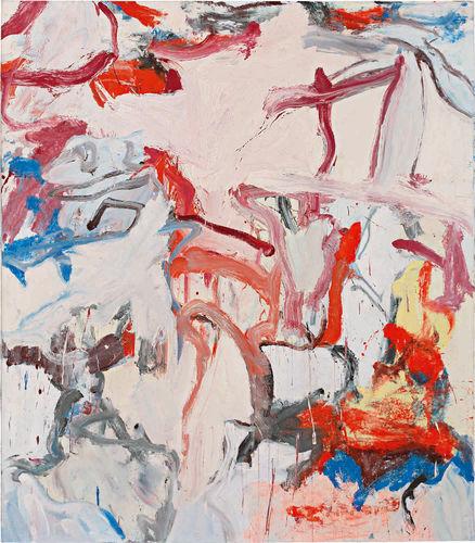 Willem de Kooning Untitled VI 1975 Painting Sold for $12.4 Million