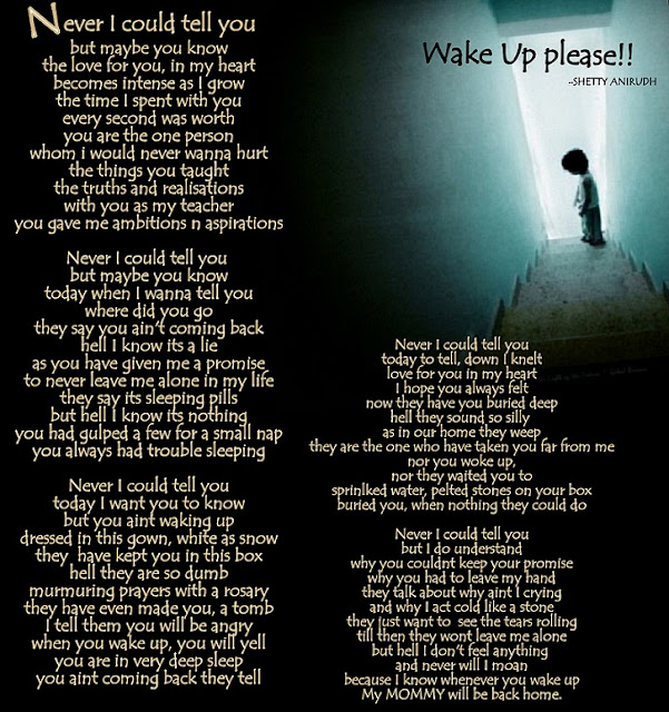 Poem, Wake up Please