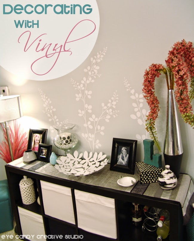 wall vinyl, wallternatives, wall decor ideas, floral design