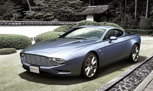 Zagato Unveils Two Aston Martin Centennial Editions Based on the DBS and DB9 Volante