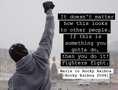 Movie Quotes Rocky Bal...