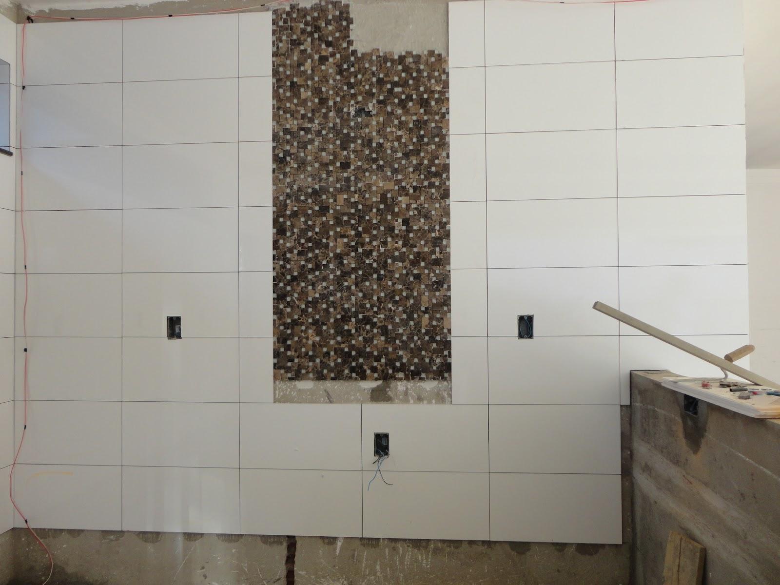 nossa casa nosso sonho : balcão da cozinha e revestimento e gesso #41372C 1600 1200