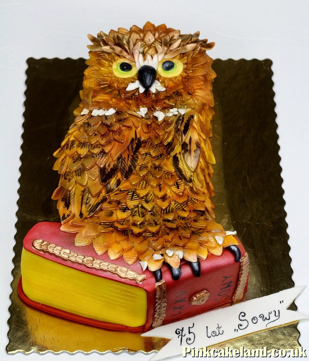 Owl Birthday Cake London