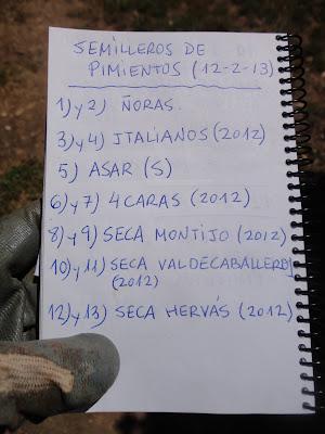 CUADERNO DE CAMPO EN EL QUE APARECEN TODOS LOS DATOS RELATIVOS A SIEMBRAS, PLANTACIONES, DESARROLLO DE LOS CULTIVOS, DÍAS DE LLUVIA, RIEGOS, ENFERMEDADES, TRATAMIENTOS...
