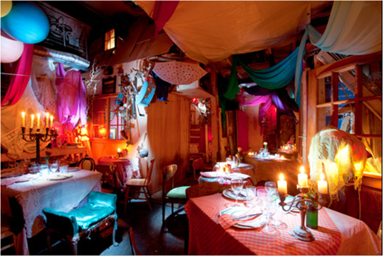 The Pale Blue Door Is A Pop Up Restaurant Cum Dining Experience, Run By  Artist Tony Hornecker. This Is The 5th Iteration Of It, And Itu0027s Still Very  ...