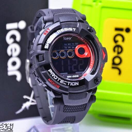 I Gear I09 Original Black Red