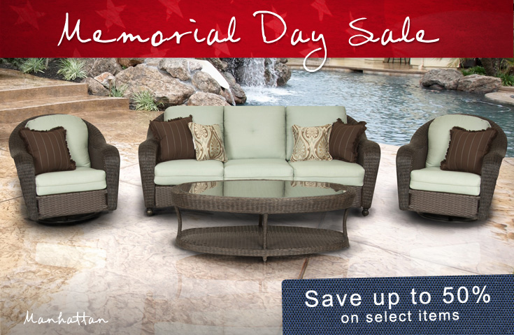 Outdoor Furniture Sale Memorial Day