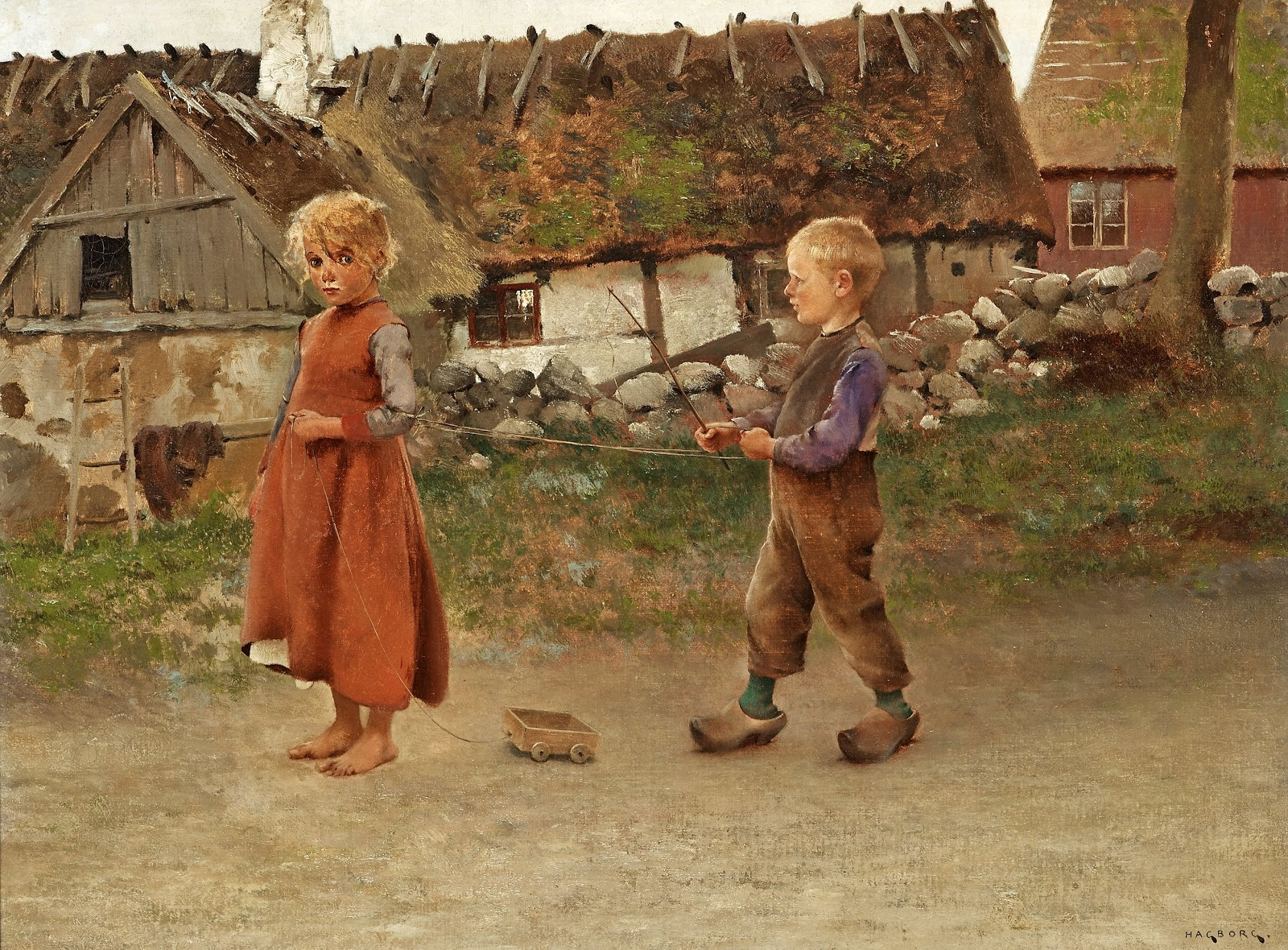 August Hagborg Child s play