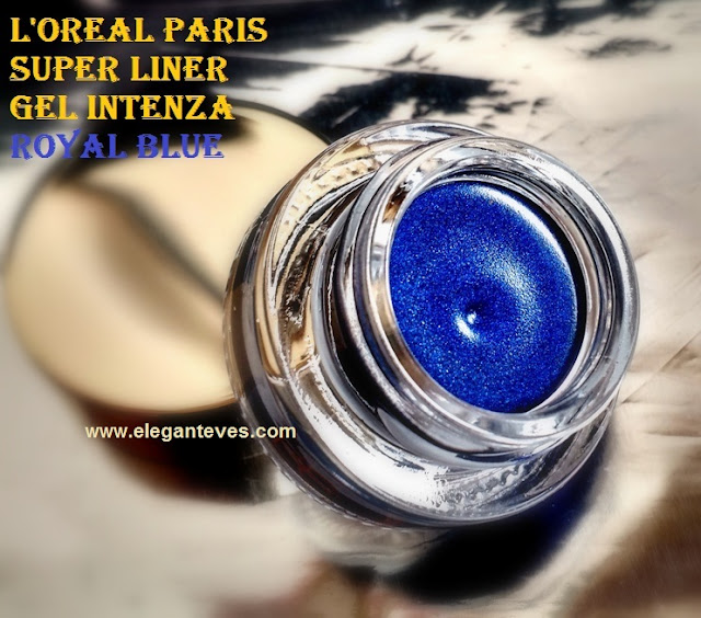 L'Oreal Paris Super Liner Gel Intenza #04 Royal Blue