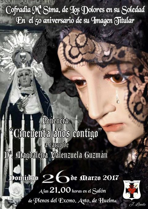 PONENCIA: "50 AÑOS CONTIGO" A CARGO DE Dª. MAGDALENA VALENZUELA