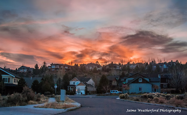 Awbrey Butte Bend oregon sunset Jaime Weatherford