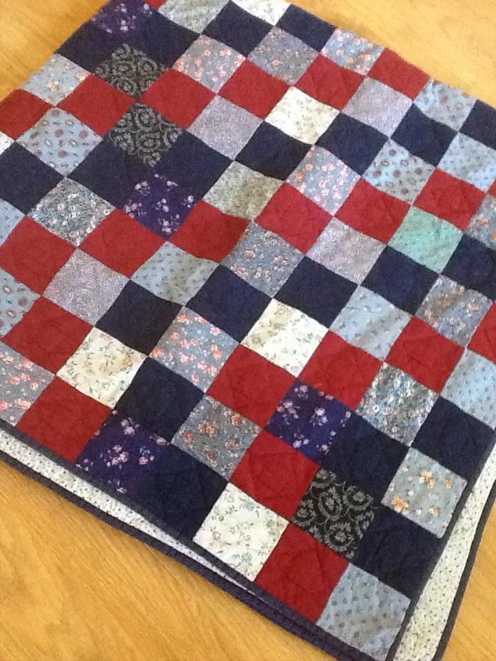 eerste grote quilt