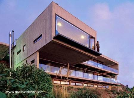 Casa de playa volada en Chile