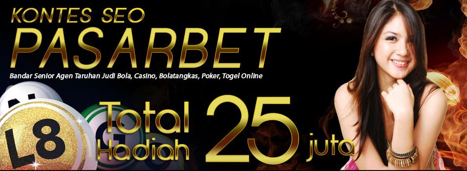 kontespasa Ikuti Kontes Seo Pasarbet.com total hadiah 25 Juta | pasarbet.com Agen dan Bandar judi Bola casino Poker Bolatangkas Togel Terbesar indonesia