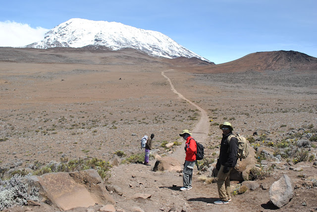 Saddle Kilimanjaro Marangu Route