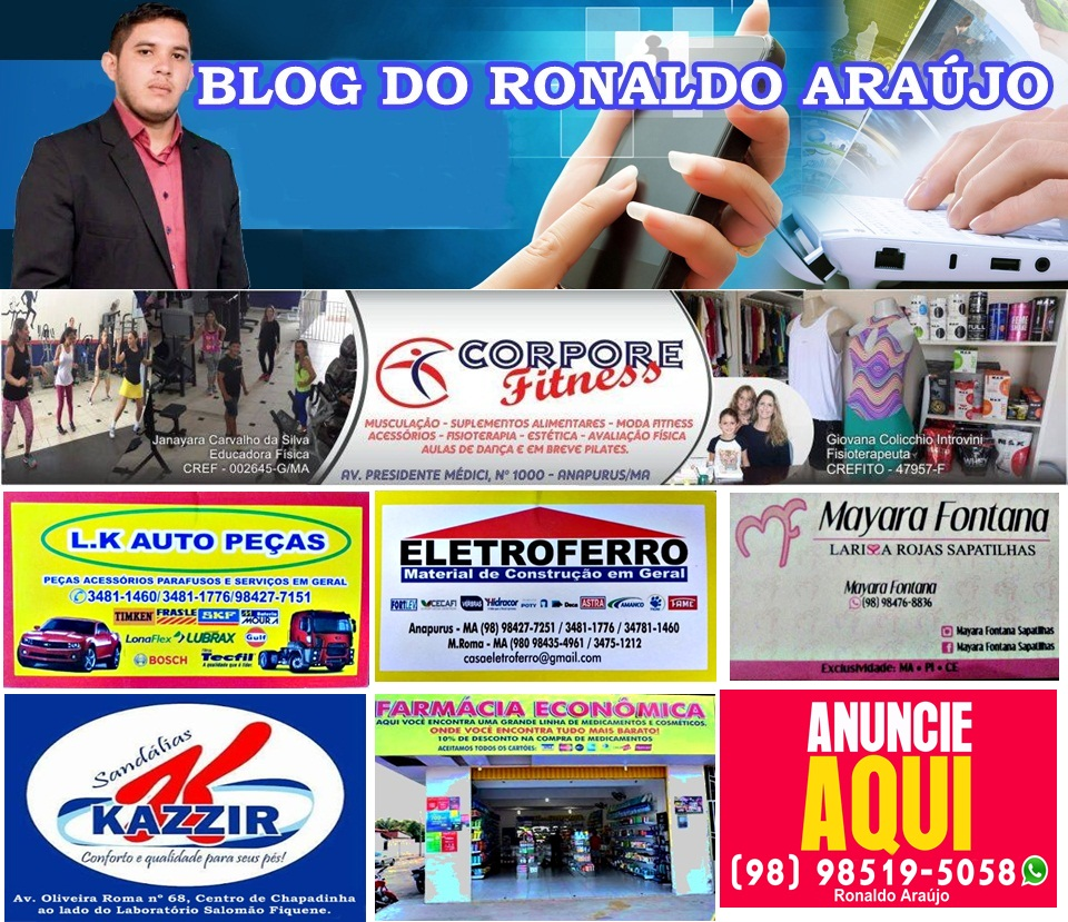 BLOG DO RONALDO ARAÚJO