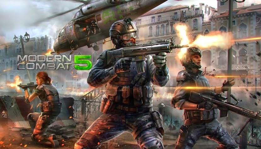 Modern Combat 5: Blackout v1.0.3b APK MOD