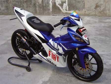 gambar yamaha jupiter MX motogp