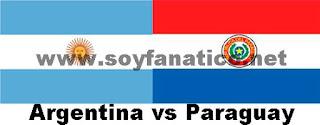 Argentina vs Paraguay Copa América 2015