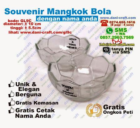 Souvenir Mangkuk Kaca