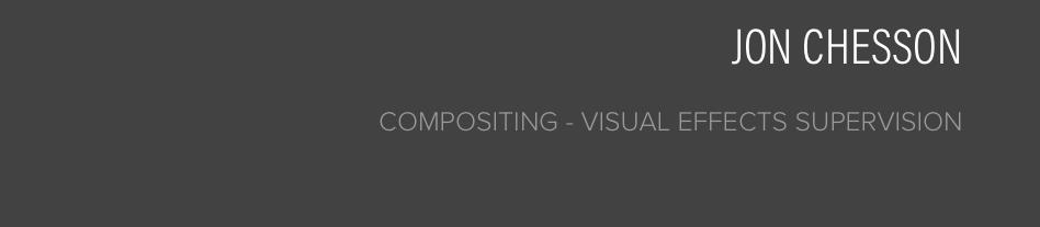 Jon Chesson - VFX Blog
