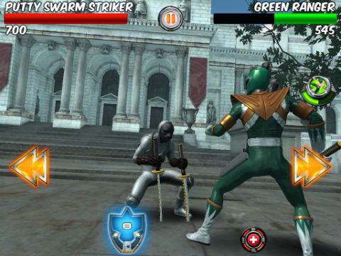 Power Rangers Legends gameplay