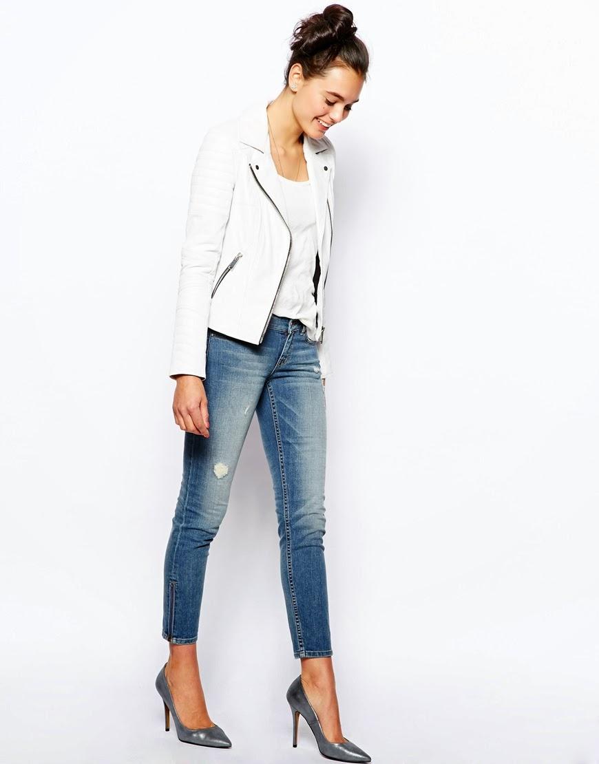 zip side jeans