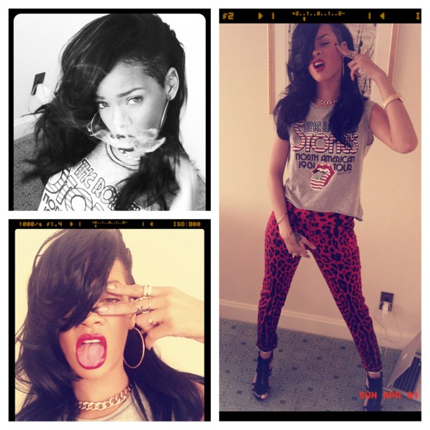 Rihanna-goes-back-to-black-hair-and-shaves-her-sides-again