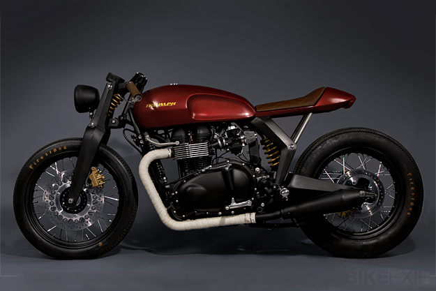 Bike Exif Triumph Twin Concept via Bike Exif