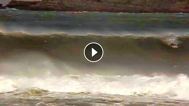 ROB MACHADO AND TOM CURREN AT EPIC MUNDAKA SPAIN