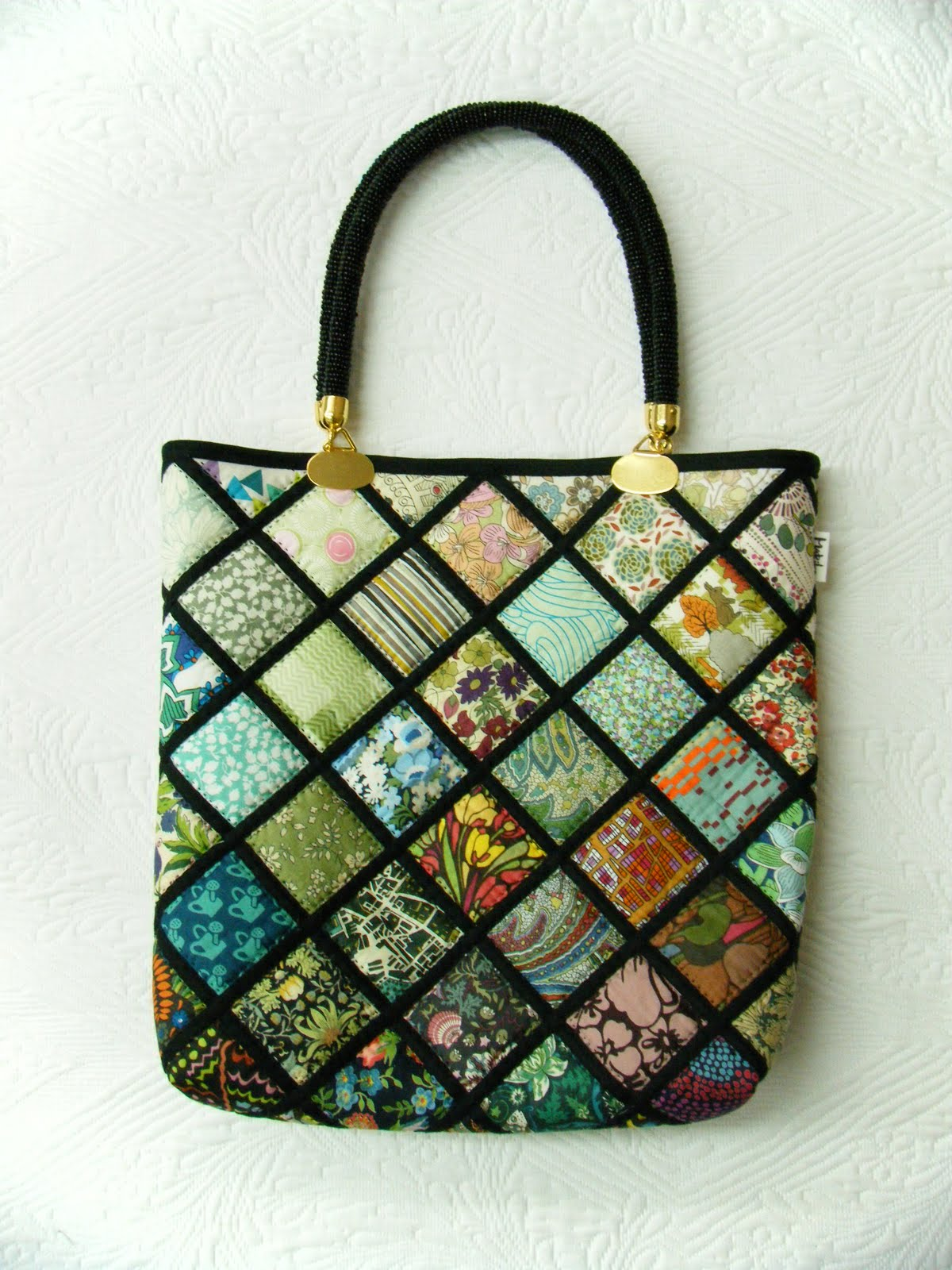 Quilting inspiration: Patchwork Mariko Japan: New bags: Mariko\'s ...