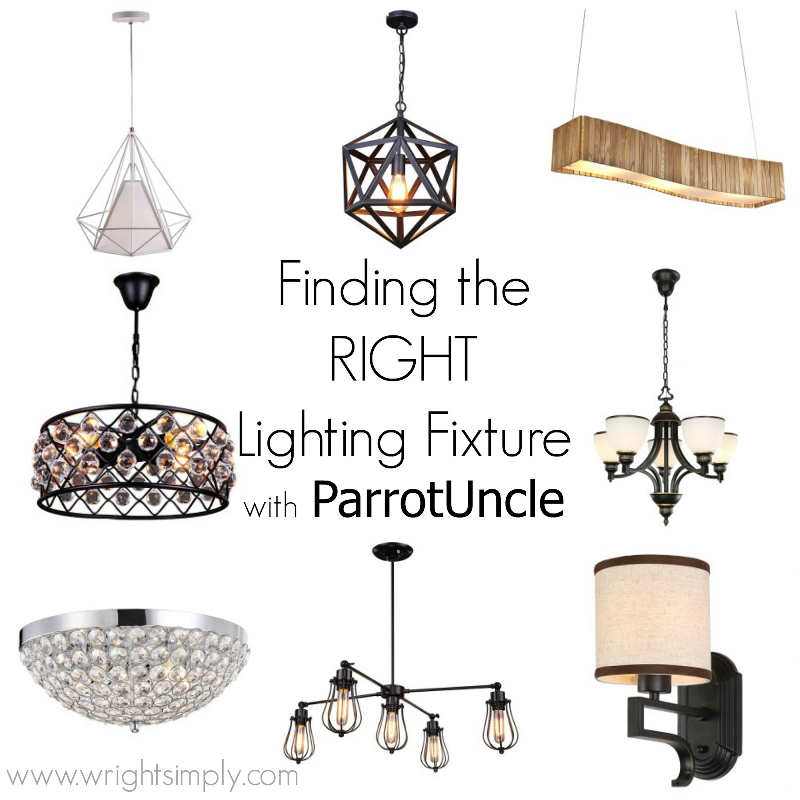 Find the right lighting fixture gift card giveaway