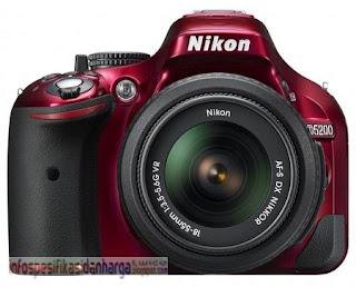 Harga Nikon D5200 Kamera Digital Terbaru 2012