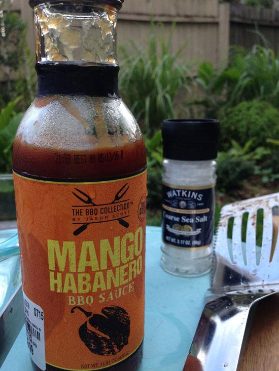 The Rainforest Garden: Mango Habanero Pork Chops and ...