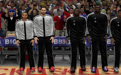 NBA 2K13 All-star game Warm-up Uniforms Patch