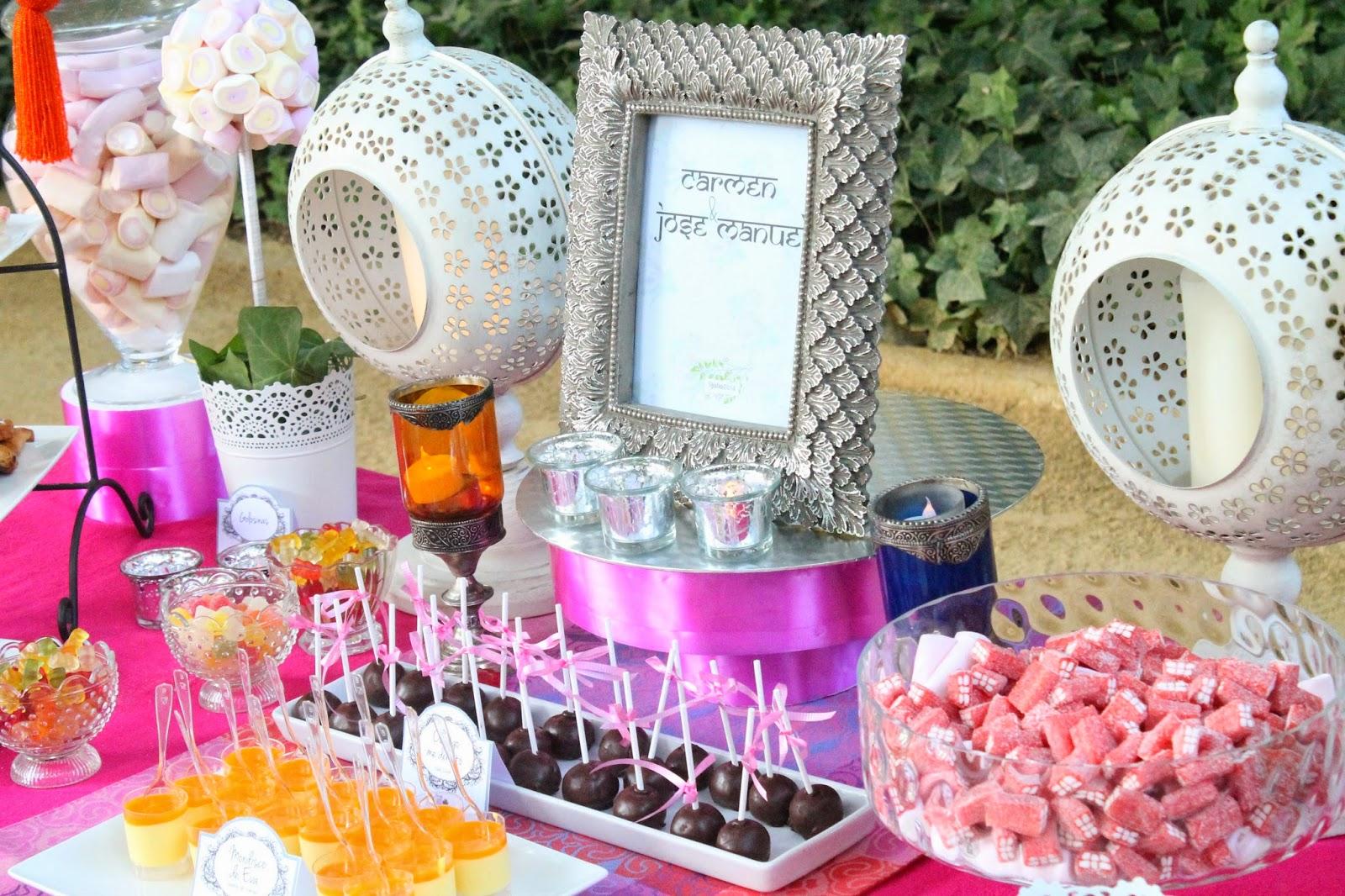 Ideas mesas de dulces boda foro organizar una boda for Dulce boda