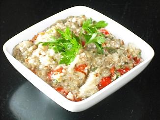 have previously published the recipe for Eggplant Dip (Melitzanosalata ...