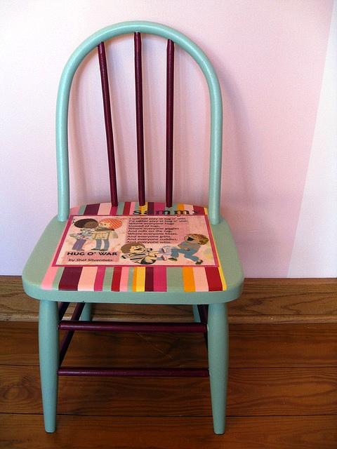 Старый стул на новый лад