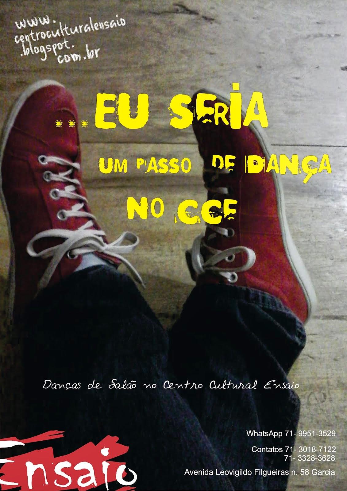Dançar no CCE...