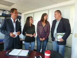 Garrigues, conversa con la Federación Colombiana de Municipios.