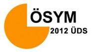 2012-ÜDS Sonbahar dönemi başvuruları başlıyor