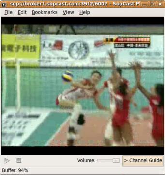 Regarder la télévision sur le Web avec Sopcast sur ubuntu