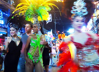 Ladyboys at Patong Phuket Bangla Road