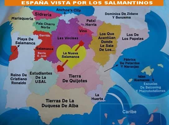 España vista por los Salmantinos