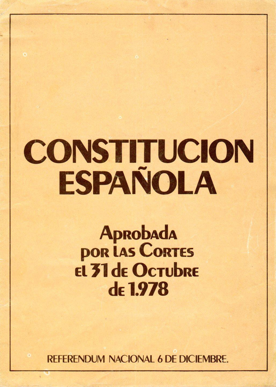 06.12.18 SE CUMPLEN 40 AÑOS DE LA APROBACIÓN DE LA CONSTITUCIÓN ESPAÑOLA