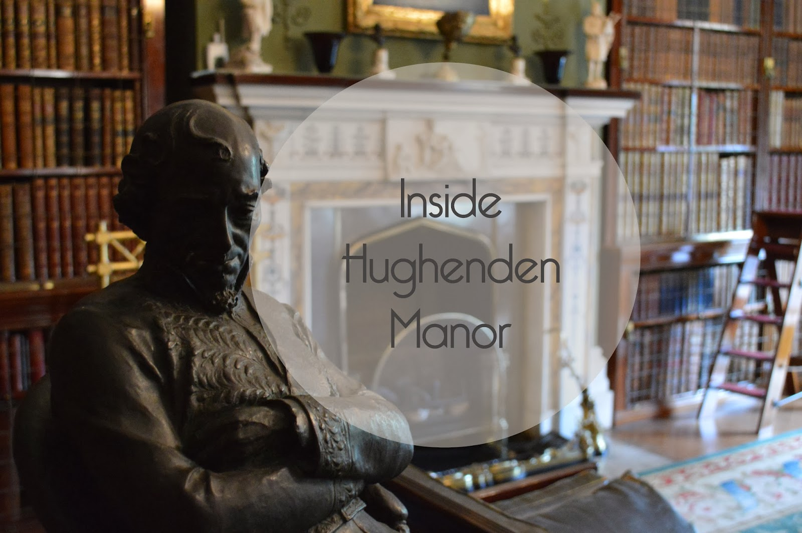 Hughenden Manor, interior, National Trust, 18th century, Victorian, library, visit, Uk, Buckinghamshire, photo, photography, inside,