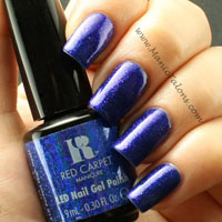 Red Carpet Manicure Gel Polish Perfect High Heels Swatch