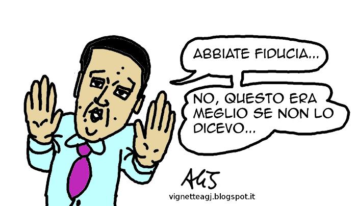 Renzi, italicum, minoranza PD, satira , vignetta