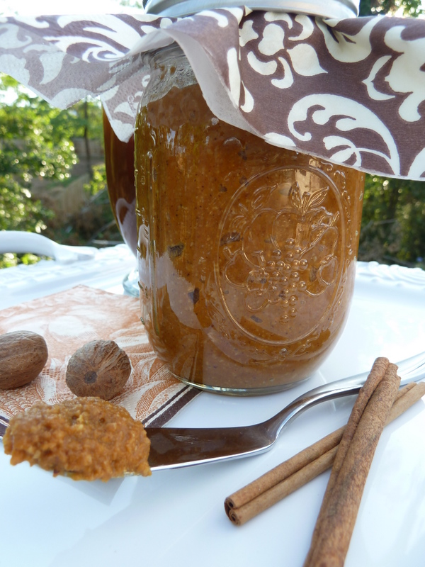 ... pecan pumpkin butter from Williams-Sonoma. It was soooo delicious